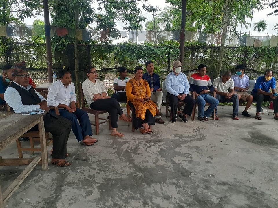 कृषि तथा पशुपालन परियोजनाको लागि जग्गाको बारेमा छलफल