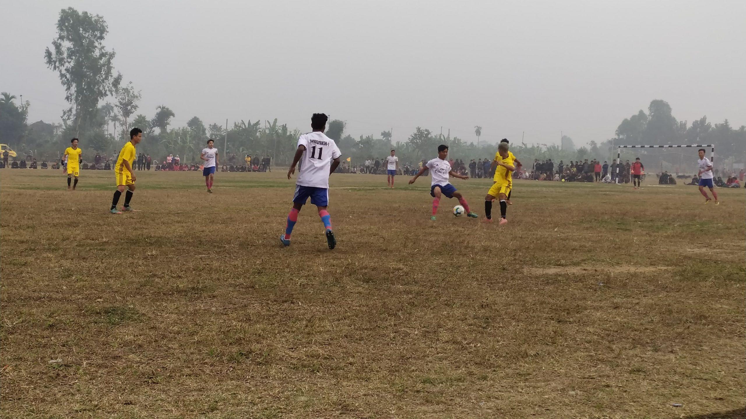 शरणार्थी शिविरमा अन्तराष्ट्रिय आमन्त्रित फुटबल प्रतियोगिता सुरु, उद्घाटन खेलमा दुधे फुटबल क्लब बिजयी
