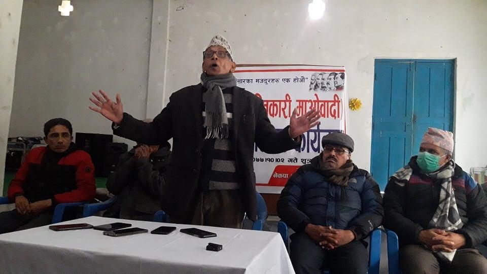 नेपालमा क्रान्ति भएको छैन, संसदीय ब्यबस्था असफल भयोः मोहन बैद्य